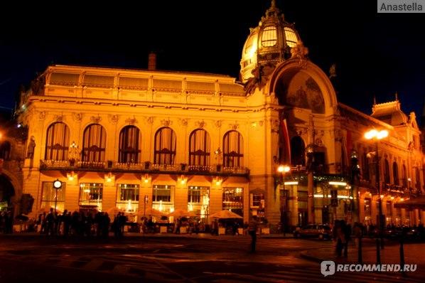 Муниципальный Дом. Площадь Революции. Прага.