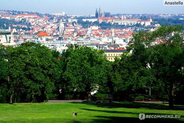 Риегровы сады. Королевские Винонграды. Прага.