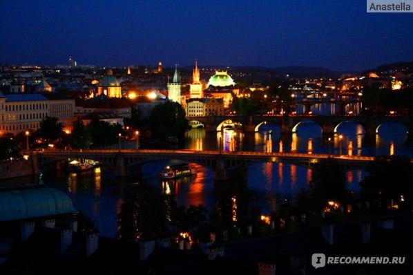Волшебные мосты Праги. Вид из парка Летна.