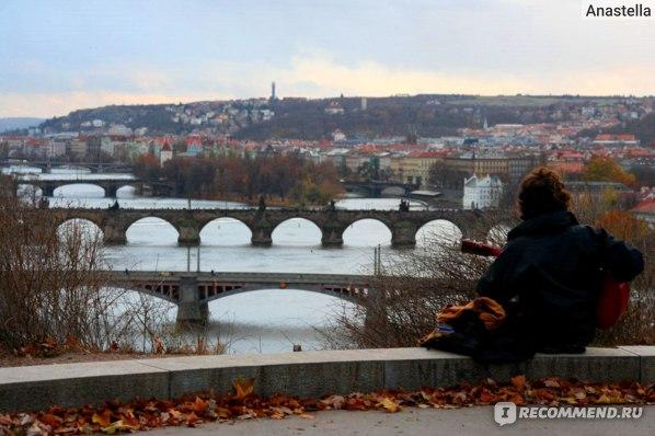 Гитарист. Прага. Мосты. Парк Летна.