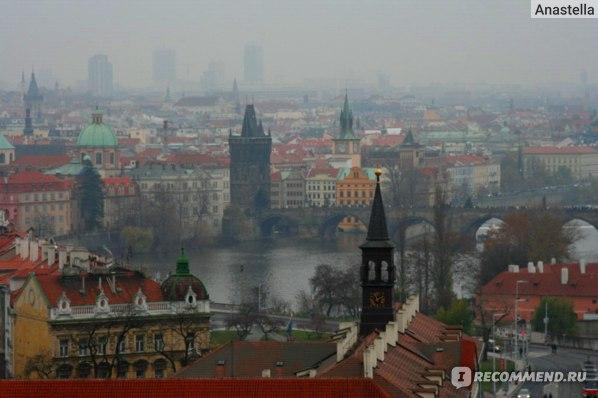 Прага. Октябрьский туман.