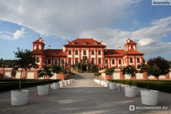 Замок Троя. Прага.