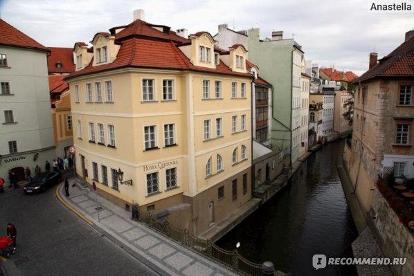 Маленькая Венеция. Прага.