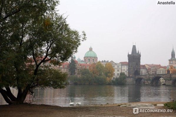 Карлов Мост. Прага в три утра.