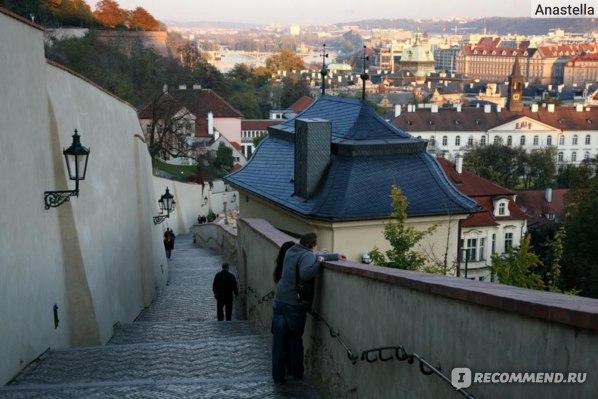 Старая королевская лестница. Пражский Град.