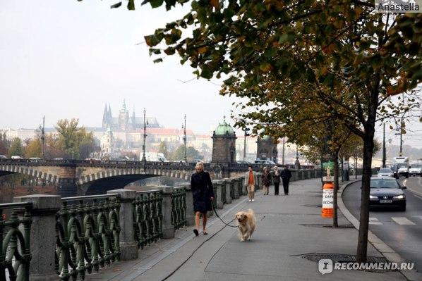 Набережная Сметаны. Прага.
