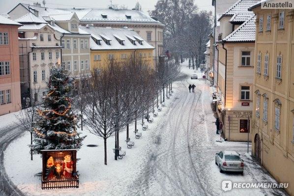 Рождество. Кампа. Прага.