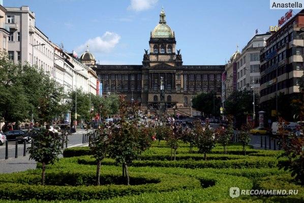 Вацлавская площадь. Прага.