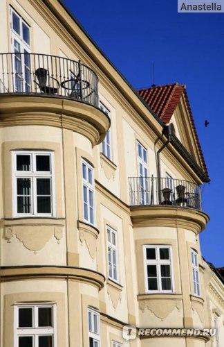 Домики на Малой Стране. Прага.