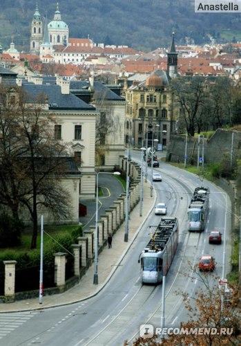 Новы трамваи. Прага.