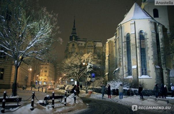 Улица около Парижской. Прага. Чехия.