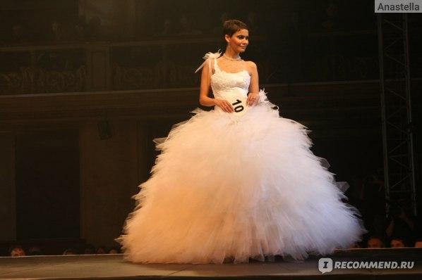 А это конкурс Свадебной моды в Люцерне. Прага.