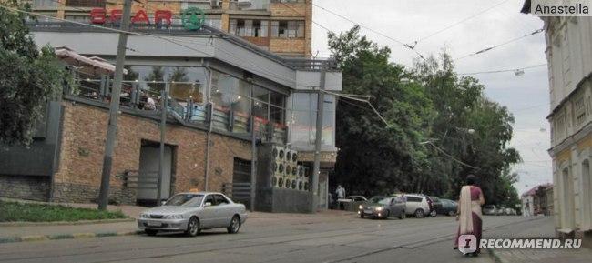 ЕвроСпар с кафешкой на втором этаже