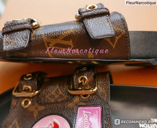 Мюли Louis Vuitton WORLD TOUR фото