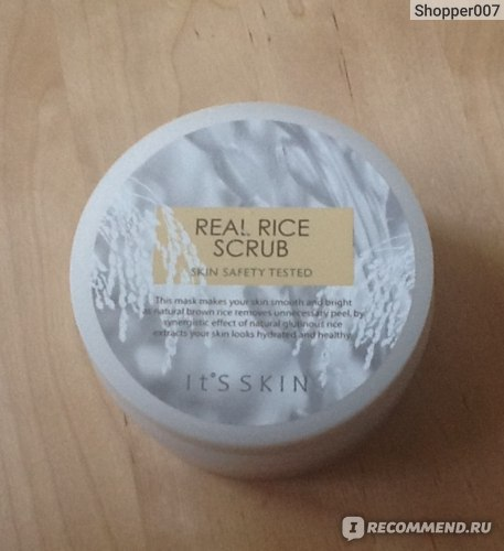 Скраб It's skin Real Rice Scrub фото