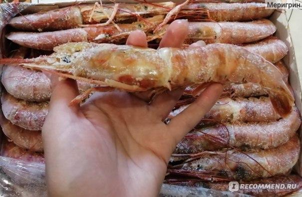 Креветки Pescapuerta (Лангустины) 2 кг, отзыв