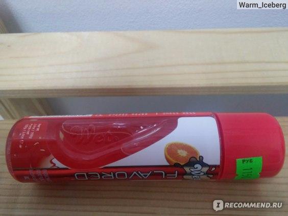 Интимный гель-смазка Wet Flavored Passionate Fruir Punch фото