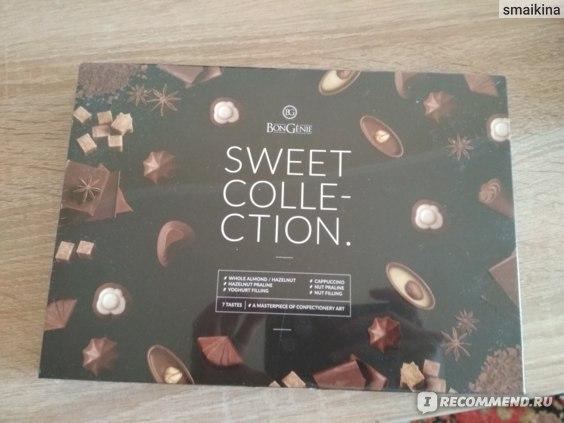 Конфеты шоколадные BonGenie молочные SWEET COLLECTION фото