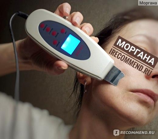 Применение Фонофореза. Аппарат для ультразвуковой чистки лица LW-006