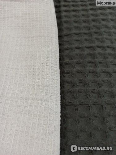 Вафельное полотенце VS Покрывало