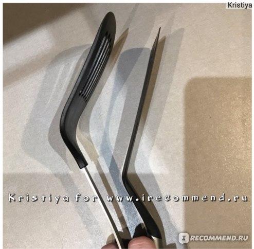 Сравнение лопаток ИКЕА по толщине края
