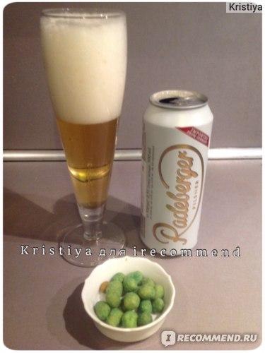 Пиво Radeberger (Радебергер)
