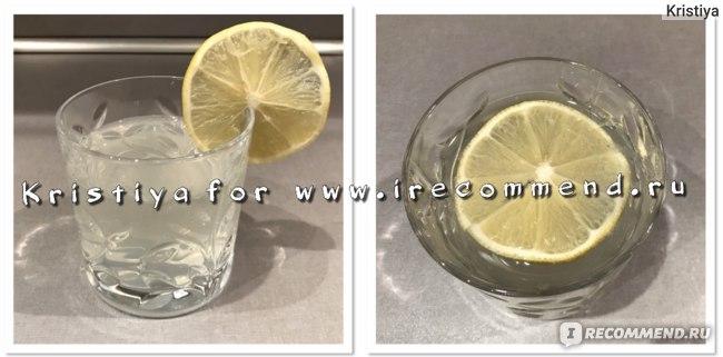 Лимонная настойка Зелёная марка коктейль