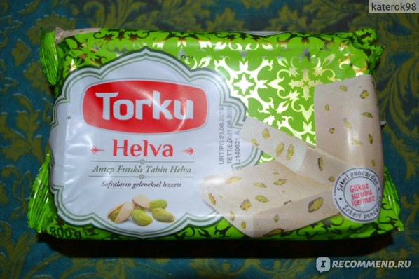 Халва Torku Helva Tahini Halva with Pistachio фото