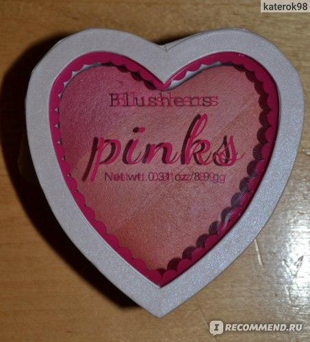 Румяна H&M Pinks фото