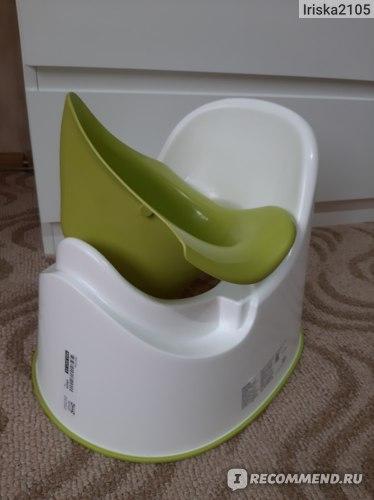 Горшок детский IKEA ЛОККИГ фото