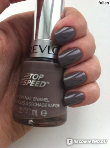 Лак для ногтей Revlon Top Speed Fast Dry фото