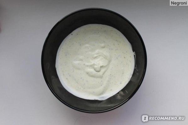 Приправа Santa Maria BBQ saucemix garlic&herbs к сметане фото