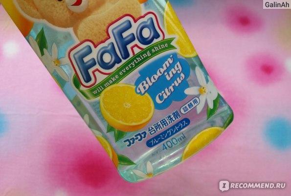 Средство для мытья посуды, овощей и фруктов NS FaFa с ароматом цитрусовых  фото