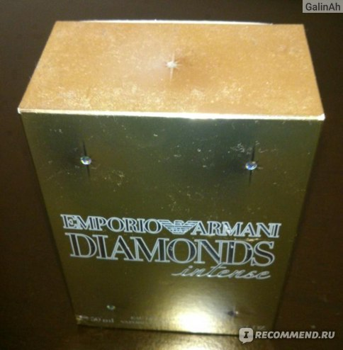 Giorgio Armani Emporio Armani Diamonds Intense фото
