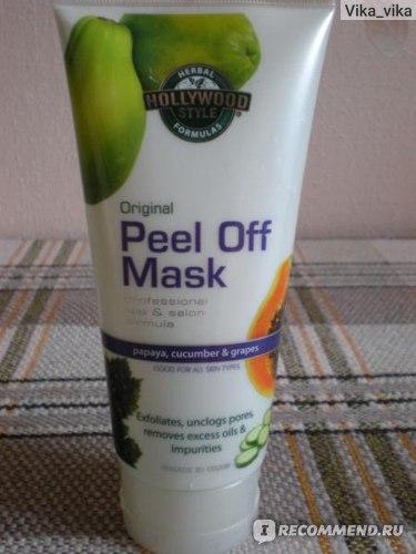 Маска-пленка для кожи лица Hollywood style Original Peel Off Mask фото