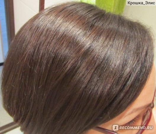 волосы на следующий день после мытья (эл.свет)