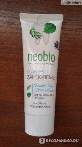 Зубная паста Neobio 75 мл фото
