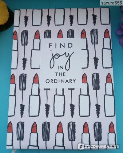 "Ежедневник Brunnen датированный  2020 Стандарт Графо ""Find joy in the ordinary"" фото"