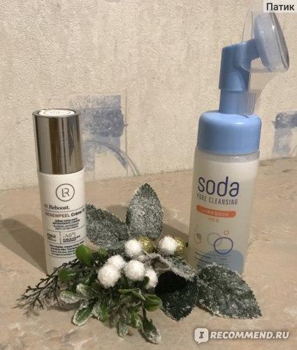 Пенка для умывания Holika Holika Soda Tok Tok Clean Pore Bubble Foam фото