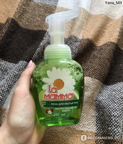 Пена для мытья рук La Mamma Аромат вишни фото
