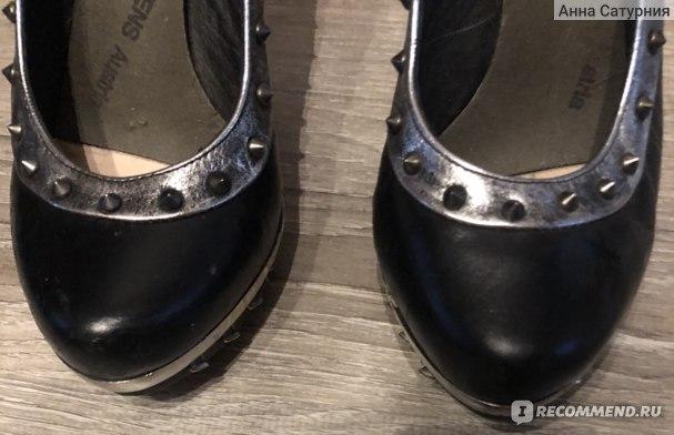 Туфли на высоком каблуке New Rock Punk Garras Cobra фото