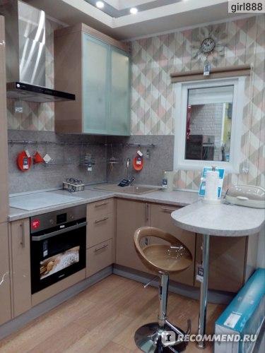Образец кухни в Леруа Мерлен
