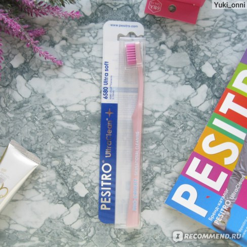 Зубная щетка Pesitro 6580 для чувствительных зубов и десен фото