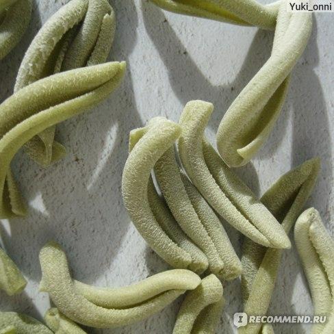 Макароны Bioteka КАЗАРЕЧЧЕ со шпинатом  фото