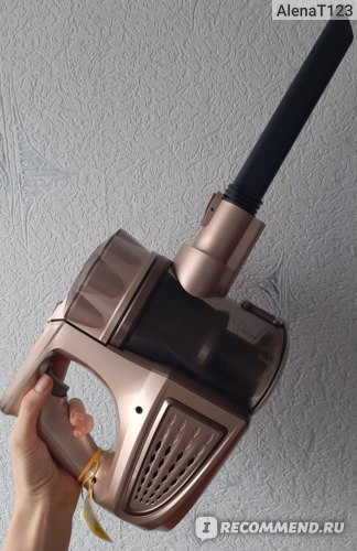 Пылесос аккумуляторный Tinton LIFE VC812 фото
