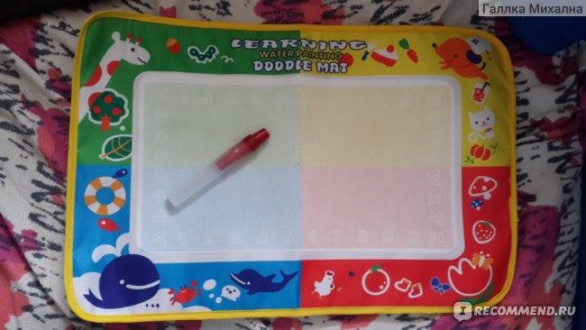 Набор для детского творчества Aliexpress Free shipping 29*19 Baby Kid Water Drawing Mat with Magic Pen  фото