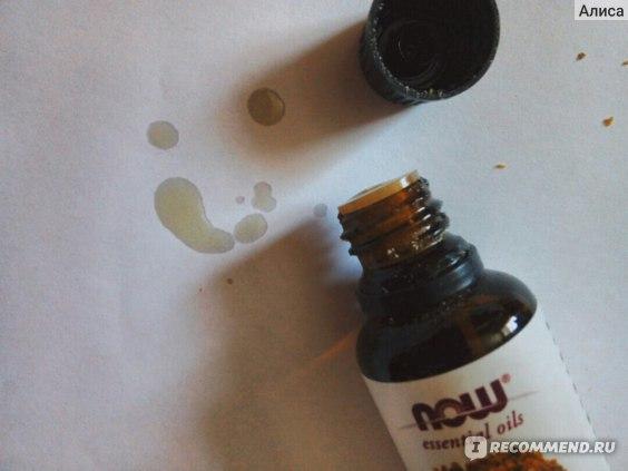 Эфирное масло мирры Now Foods фото