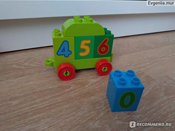 Lego Duplo 10558 Считай и играй Поезд с цифрами фото