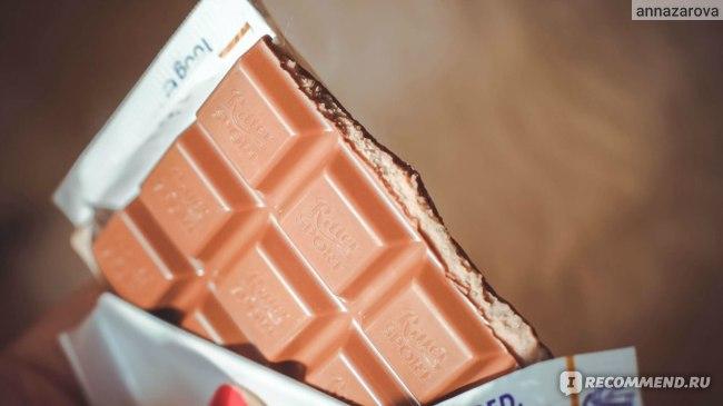 Шоколад Ritter Sport Кофе Глясе фото