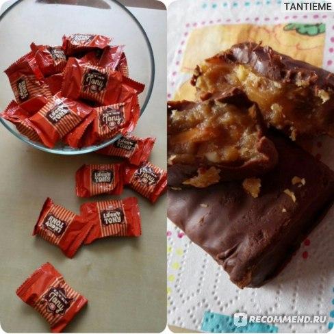 Конфеты Бисквит-Шоколад Lucky Tony фото